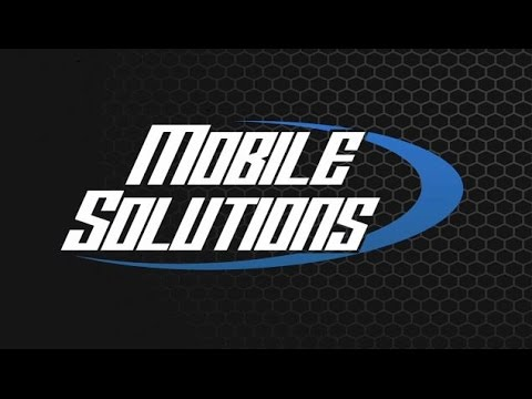 Mobile Solutions - Fabrication Products and Advanced Customization Training