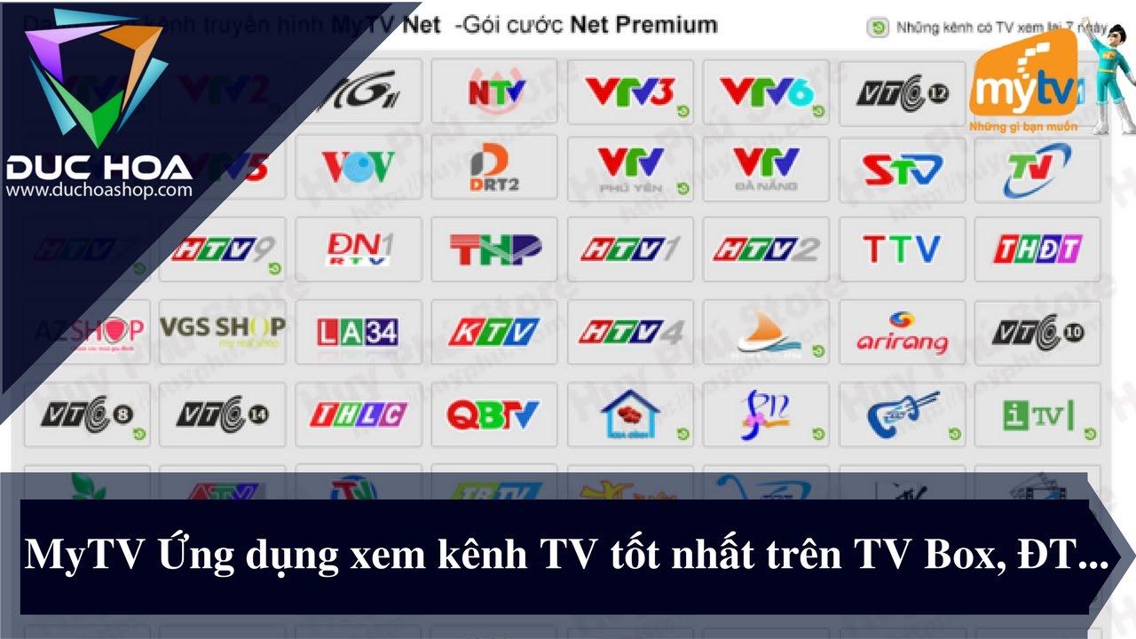 MyTV Ứng dụng xem kênh TV tốt và mượt nhất trên TV Box, Điện thoại…duchoashop.com