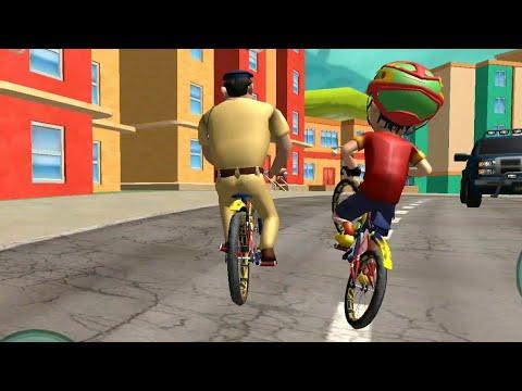 Shiva Cycle Race ( Shiva Bicycle Racing Gameplay ) - Games For Kids thumbnail