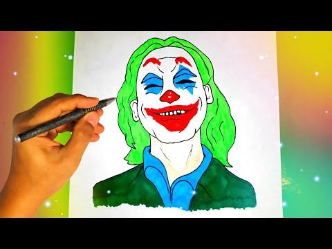 Как рисовать джокер