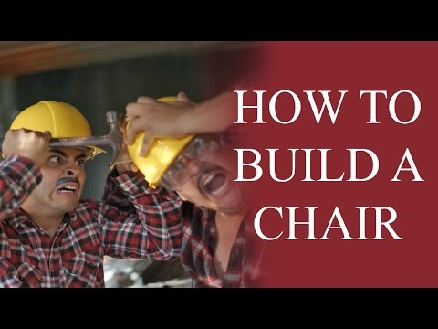 How to build a chair - The Juan And Jess Show by David Lopez