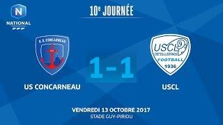 Concarneau vs Creteil full match