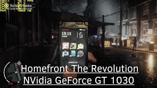 Homefront The Revolution - NVidia GeForce GT 1030 - Core i3 7300 - 8GB RAM