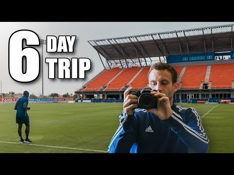 Behind The Scenes Of A Professional Soccer Team's Road Trip