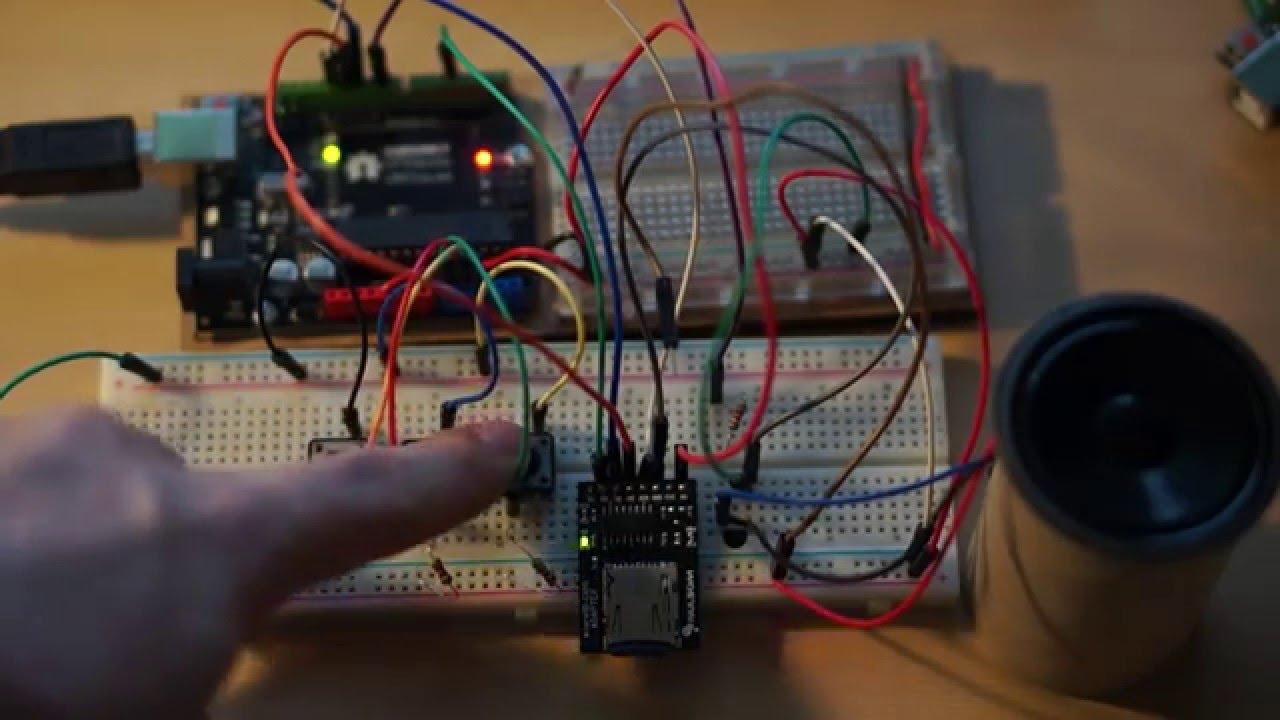 Arduino Wav Sd Player How To Use Wtv020sd Music Module With Build Circuit