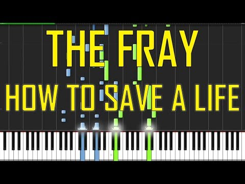 The Fray How To Save A Life Piano Tutorial Chords How To Play