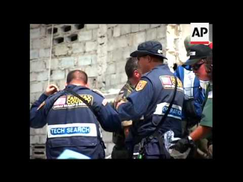 Latest in search for survivors of school collapse
