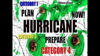 PLAN & PREPARE NOW for MAJOR HURRICANE June 17th Gulf Coast TEXAS to FLORIDA