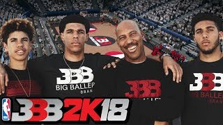 Unlocking Big Baller Brand Team in NBA 2K18