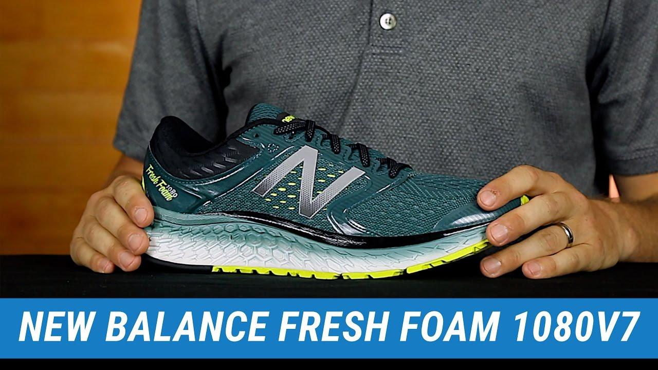 New Balance Fresh Foam 1080v7 | Men's Fit Expert Review