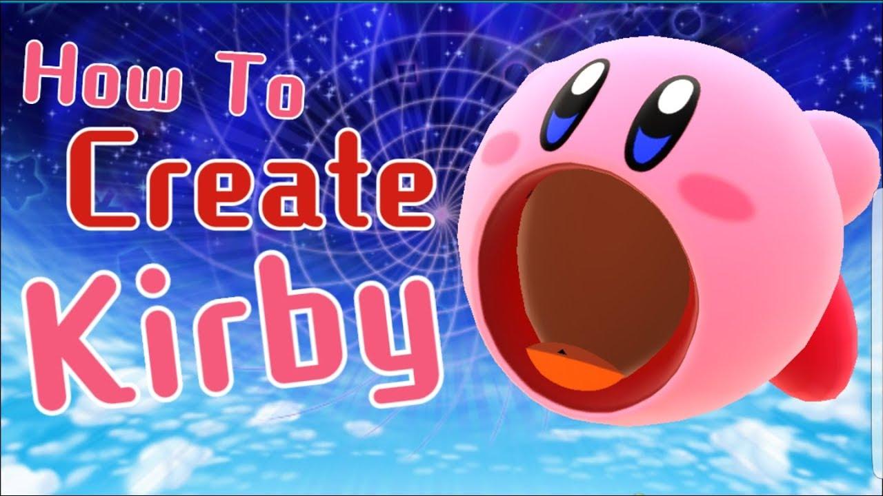 Create A Kirby Character Noll: Miitomo: How To Create Kirby!