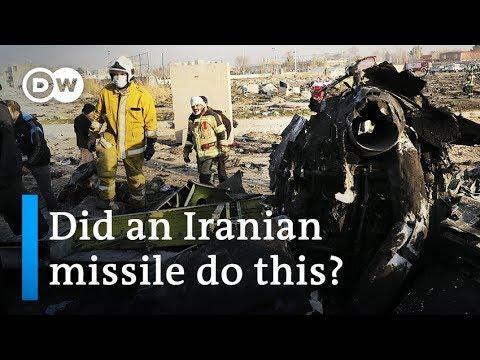 Iran plane crash: Missile 'likely' shot Ukraine jet down | DW News