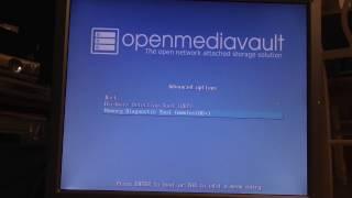 NAS Partie 2 - Installation et configuration logicielle - OpenMediaVault