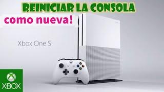Xbox One Reiniciar la Consola para Dejarla Como Nueva y Venderla 😀🎮