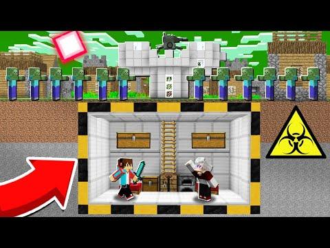 КАК КОМПОТ И ТОПОВСКИЙ ПЕРЕЖИЛИ ЗОМБИ АПОКАЛИПСИС МАЙНКРАФТ 100% Троллинг Ловушка Minecraft