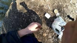 Рыбалка на маховое удилище г Запорожье Украина 01 04 2021