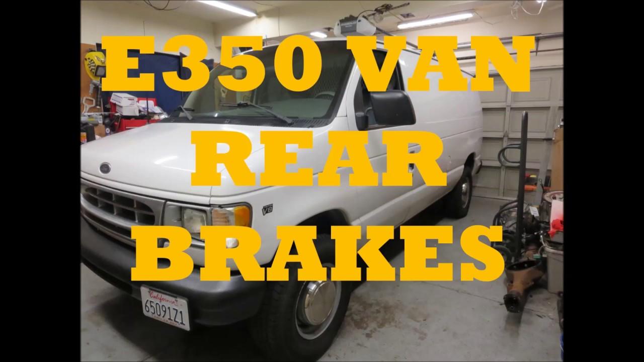 medium resolution of van e350 rear brakes