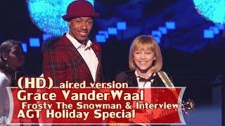 [Eng-Vietsub] Grace VanderWaal: tất cả đều mỉm cười hạnh phúc khi nghe giọng hát của quán quân AGT