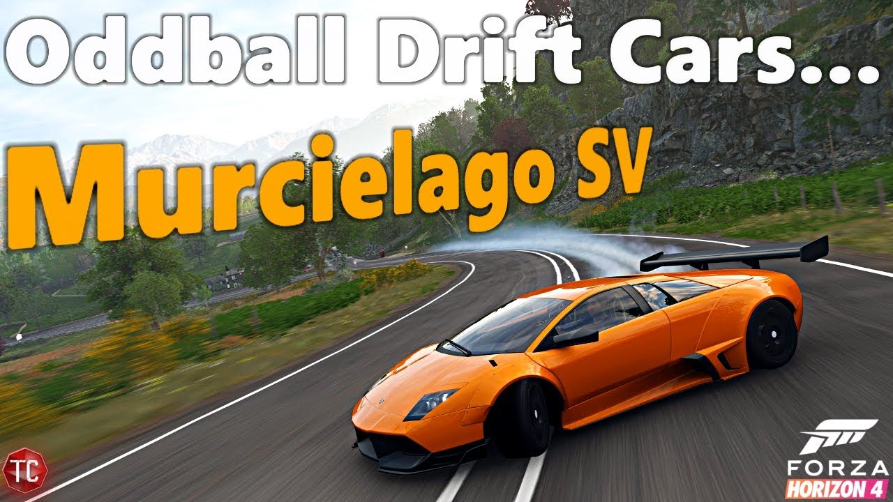 Forza Horizon 4 Oddball Drift Cars Lamborghini Murcielago Sv