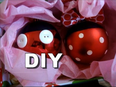 diy mickey minnie ornaments youtube - Minnie Mouse Christmas Ornament