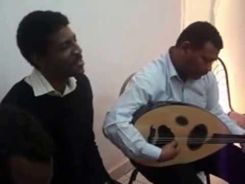 Rayda fund party, Artist D.Yair Mabyo and Abdallah Amro Cairo 2009