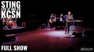 Sting || Live @885 KCSN || FULL SHOW