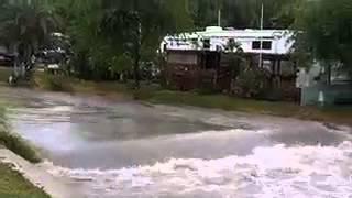 Flooding At Sea Breeze RV Park
