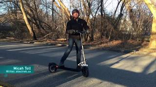 This electric scooter is a tank! - EMOVE Cruiser Review by Tesla Reviewer Electrek