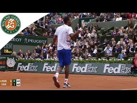 2014 French Open Shots of Day 3
