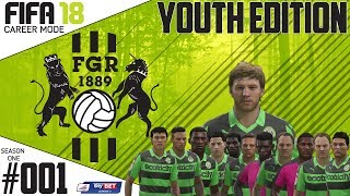 Fifa 18 Career Mode  - Youth Edition - Forest Green Rovers - Season 1 EP 1 ( FIFA 2018 )