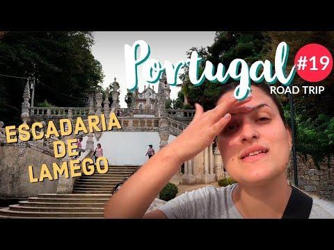 ESCADARIA DE LAMEGO, PORTUGAL  | ESCADARIA NOSSA SENHORA DOS REMÉDIOS | LATITUDE INFINITA