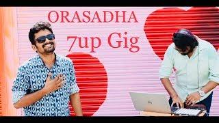 Orasaadha | 7up Madras gig | cover by Shree J Kanth