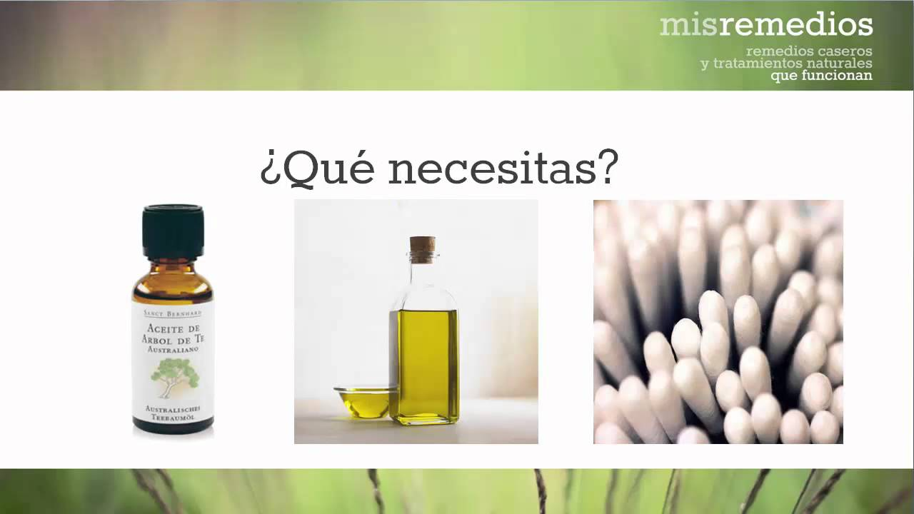 Remedio De Aceite De árbol De Té Para Los Hongos En Las Uñas