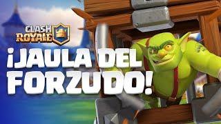 Clash Royale en Español: ¡NUEVA CARTA! 😲 ¡La Jaula del Forzudo!