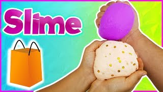 🛍️ Çantadan Ne Çıkarsa Slime Challenge Çanta Slaym Eğlenceli Oyun Videosu VakVakTV