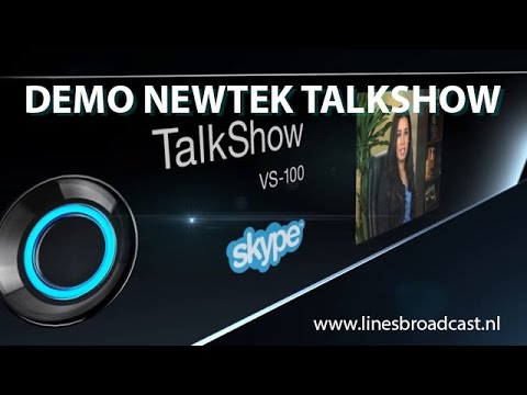 Demo TalkShow Skype TX from NewtekSTREAM