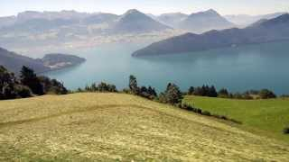 The Global Gumshoe Investigates Vitznau and Mt. Rigi, Switzerland
