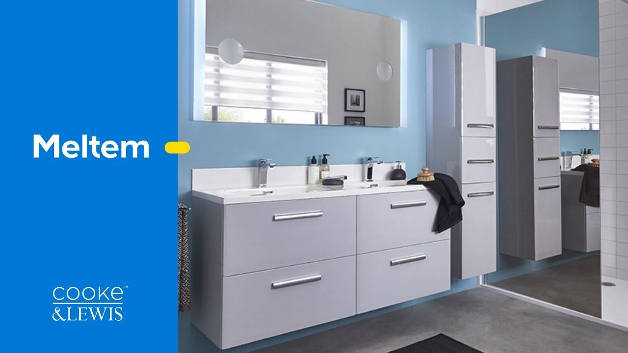 meuble de salle de bains a composer meltem cooke lewis castorama