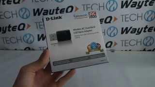 d link wireless ac dual band usb nano adapter kicsomagol vide