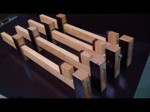 Homemade Wood Bar Clamps 2