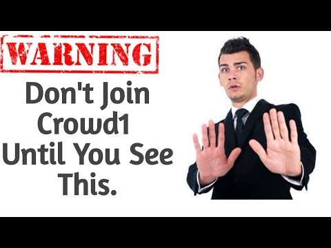WARNING! Don't Join Crowd1 Until You See This.