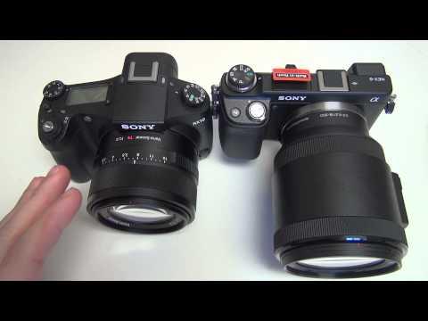 Sony RX10 vs NEX-6 (SELP18200)