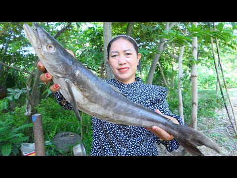 Catfish Soup Cooking With Vegetable - Catfish Soup Cooking - Simple Life Cooking