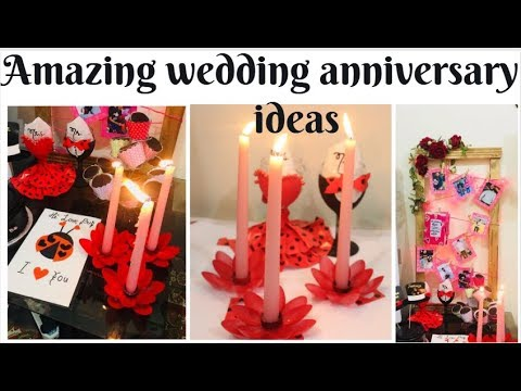 Romantic Wedding Anniversary Ideas At Home Youtube