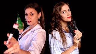 АСМР 💆♀️ Салон Красоты и Спа 💧 - Коллаб с ASMR Red Lips - Ролевая Игра, Шепот
