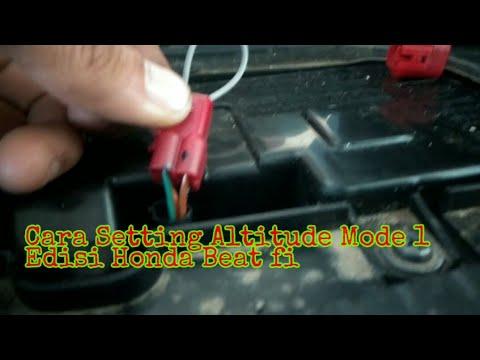 Cara Setting Reset Altitude Honda New Beat Fi Youtube