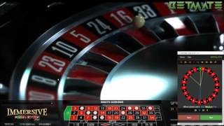 Immersive roulette with Betmate software