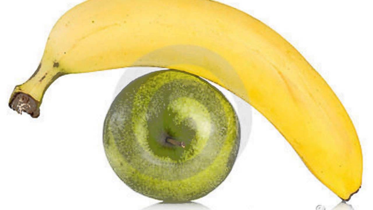 oler bananas y manzanas verdes te ayuda a adelgazar