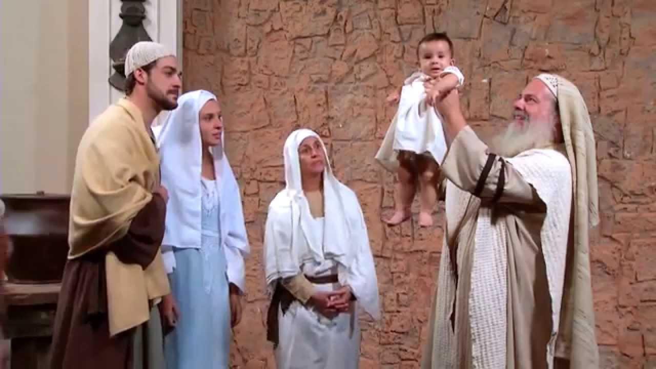 Resultado de imagem para imagem da apresentação de jesus