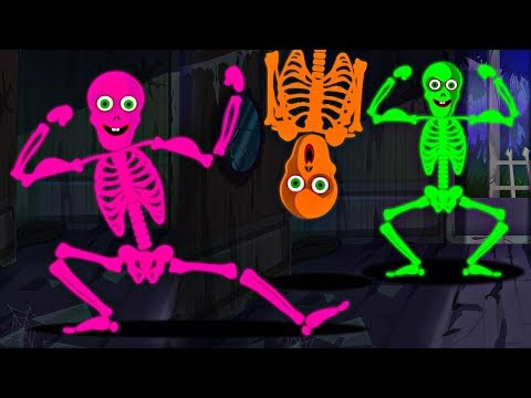 the-funny-loony-skeletons-dance-song-|-10-crazy-skeletons-midnight-madness-rhymes-by-tee-hee-town
